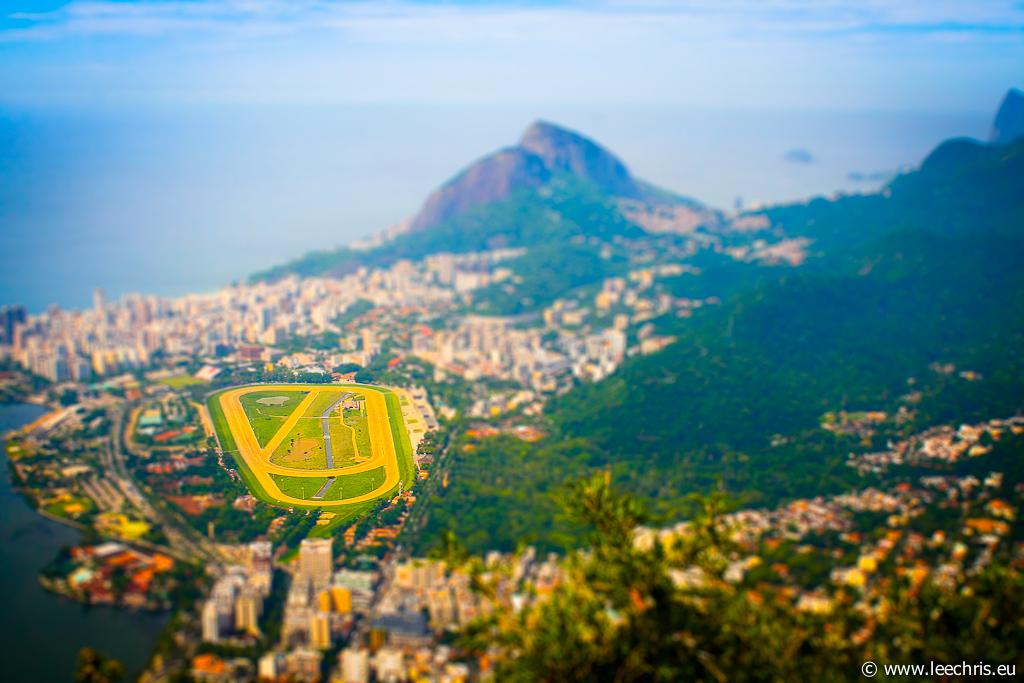 Effet maquette miniature: Brésil