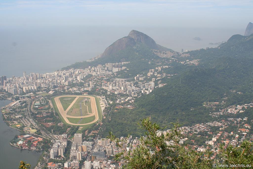 Effet maquette miniature: Brésil (avant)